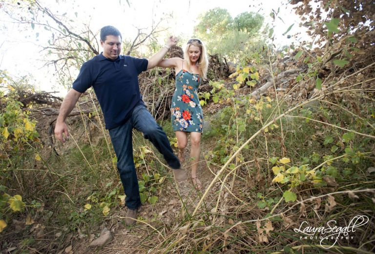 Cave Creek Arizona engagement pictures