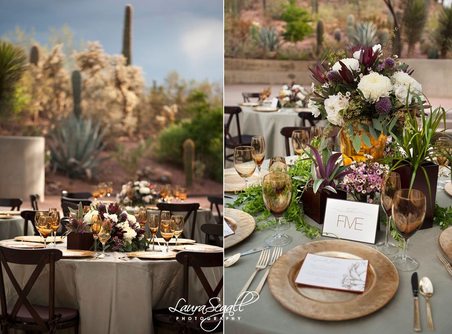Desert Botanical Garden Design Shoot With Meant2Be Events