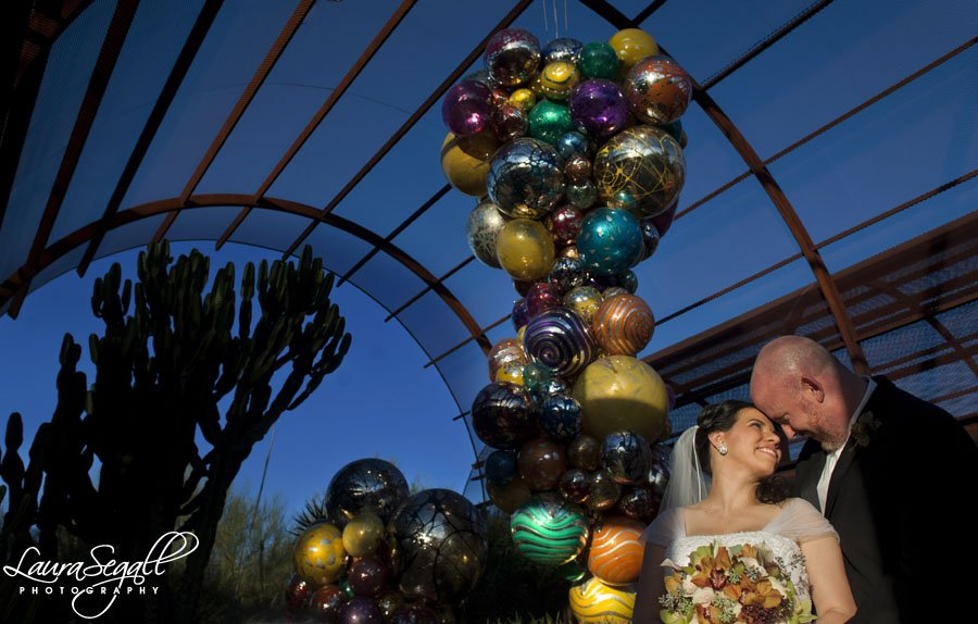 Diana And Brian Shared Their First Date Walking And Talking For Hours At  The Desert Botanical Garden So Naturally It Was The Perfect Setting For  Their ...