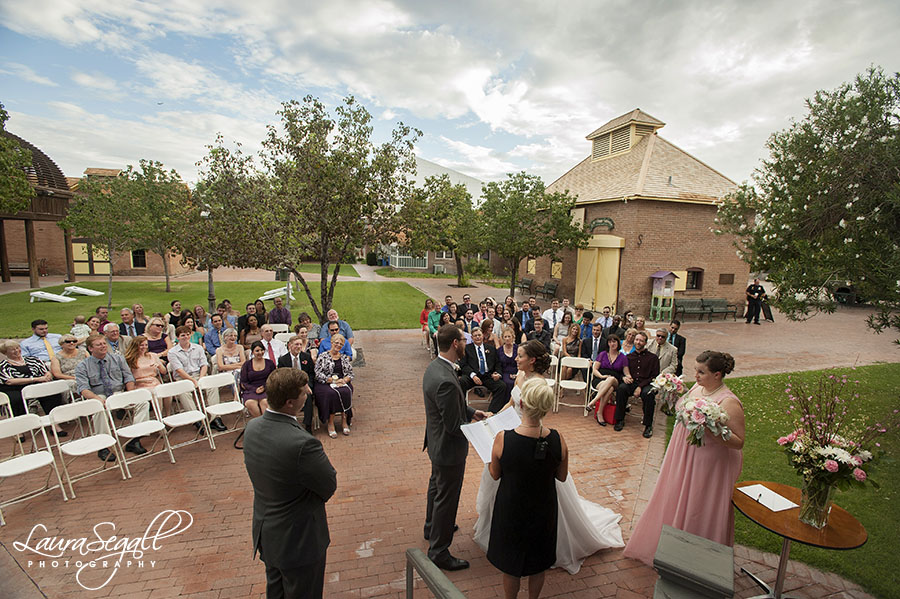 Wedding Venue Heritage Square Coordinator Sal Schroeder Samantha Womack Officiant Montana Meadows Caterer My Gal