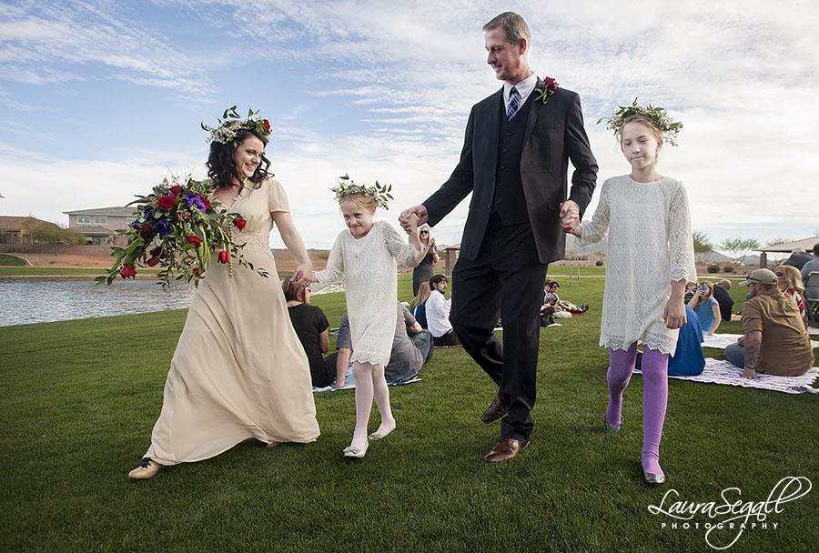 katie and matts backyard wedding laura segall