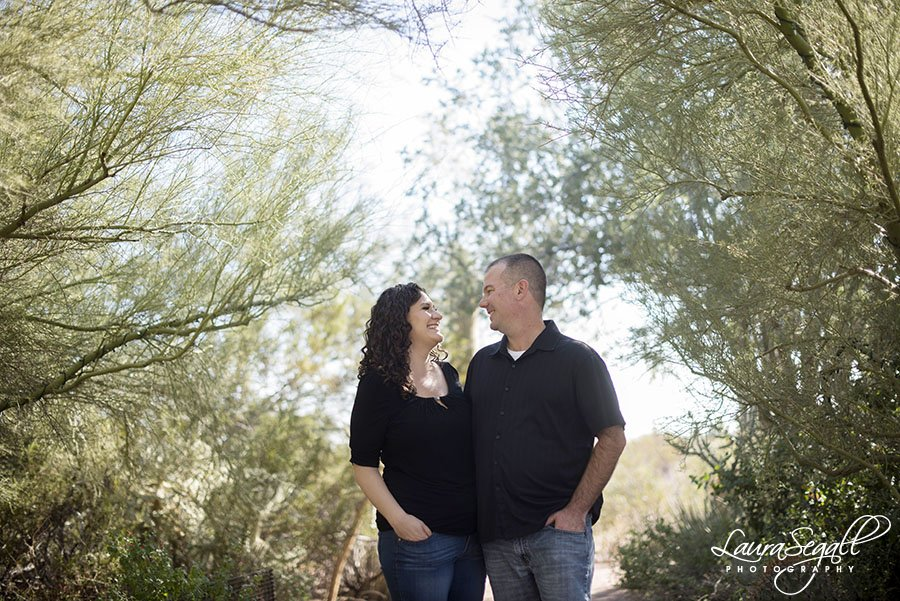 Desert Botanical Garden engagement session pictures Phoenix, Arizona