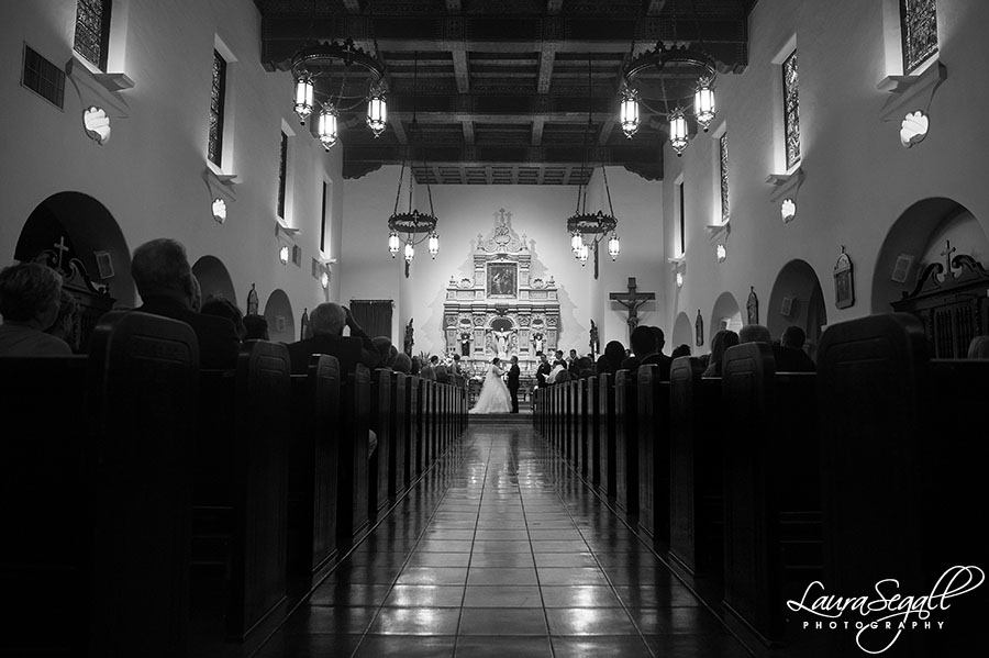 Brophy Chapel wedding Phoenix, Arizona