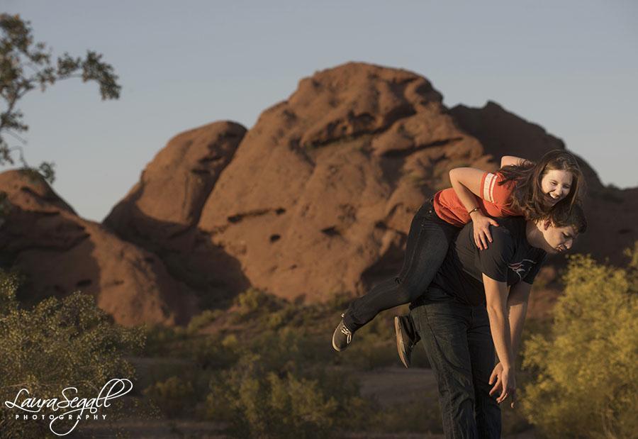 Tempe, Arizona engagement session photographer