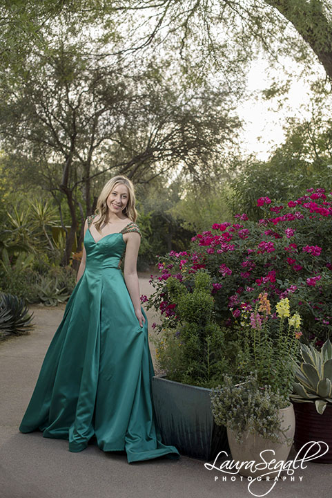 Desert Botanical Garden photography portrait session