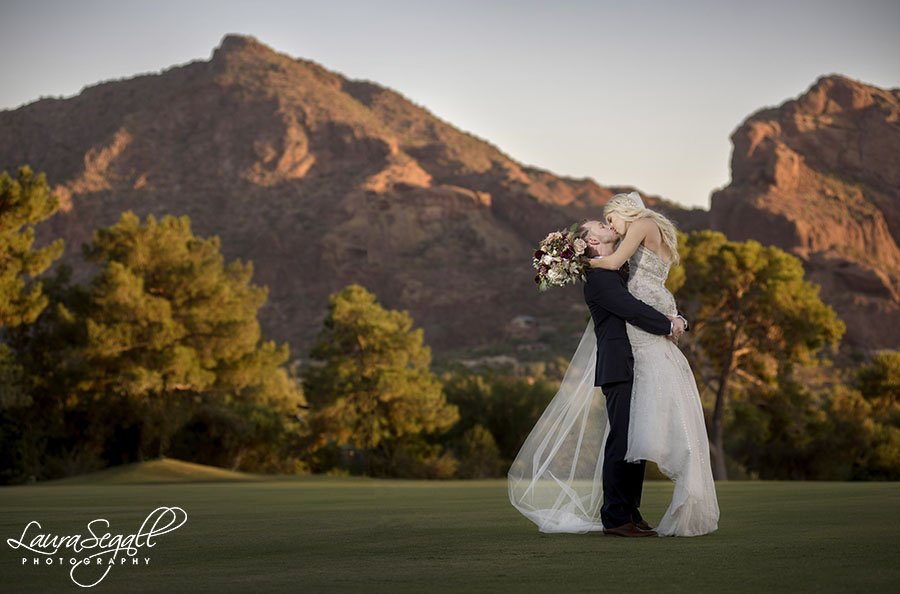 Paradise Valley Country Club wedding photography