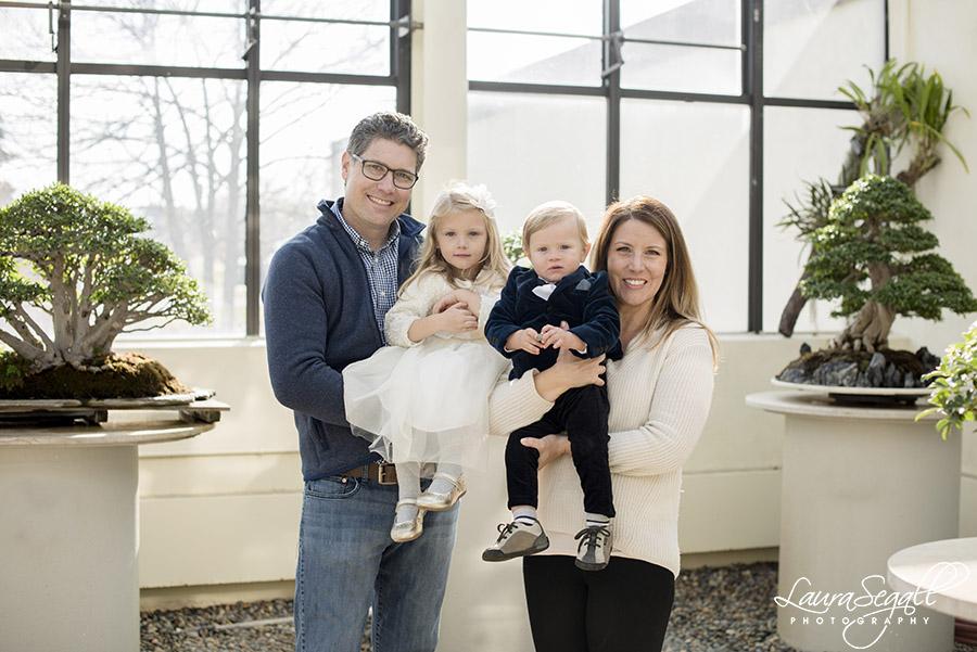 National Arboretum family photos