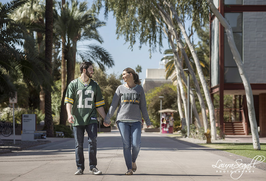 Arizona State University engagement pictures