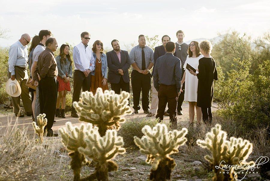 McDowell Sonoran Preserve wedding