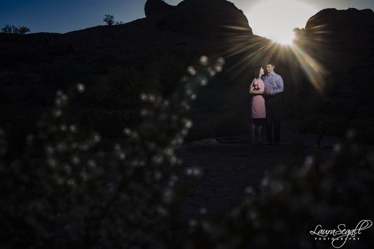 Papago Park engagement session