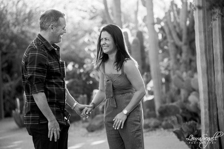 Desert Botanical marriage proposal