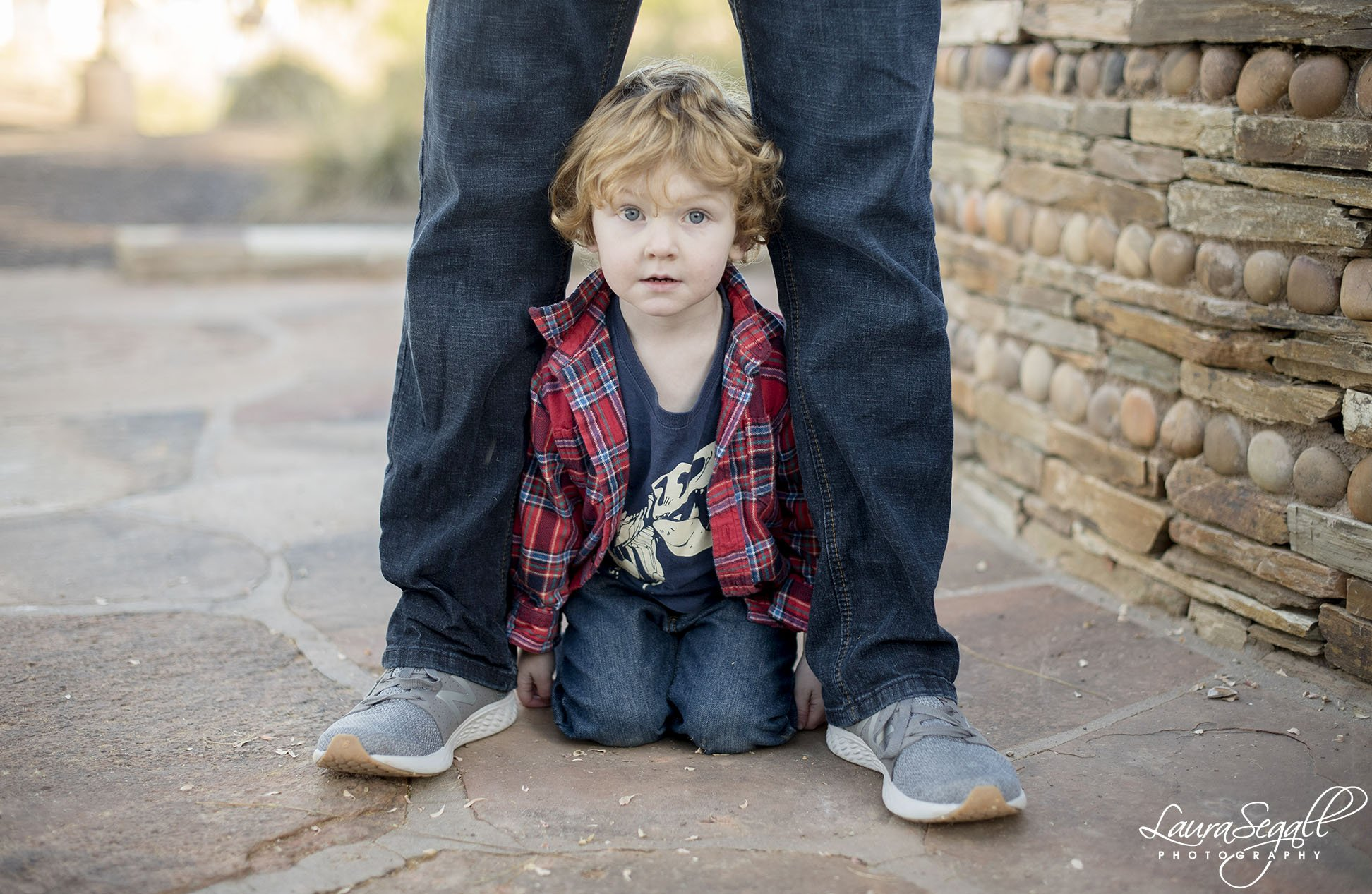 lifestyle portraits Scottsdale father son