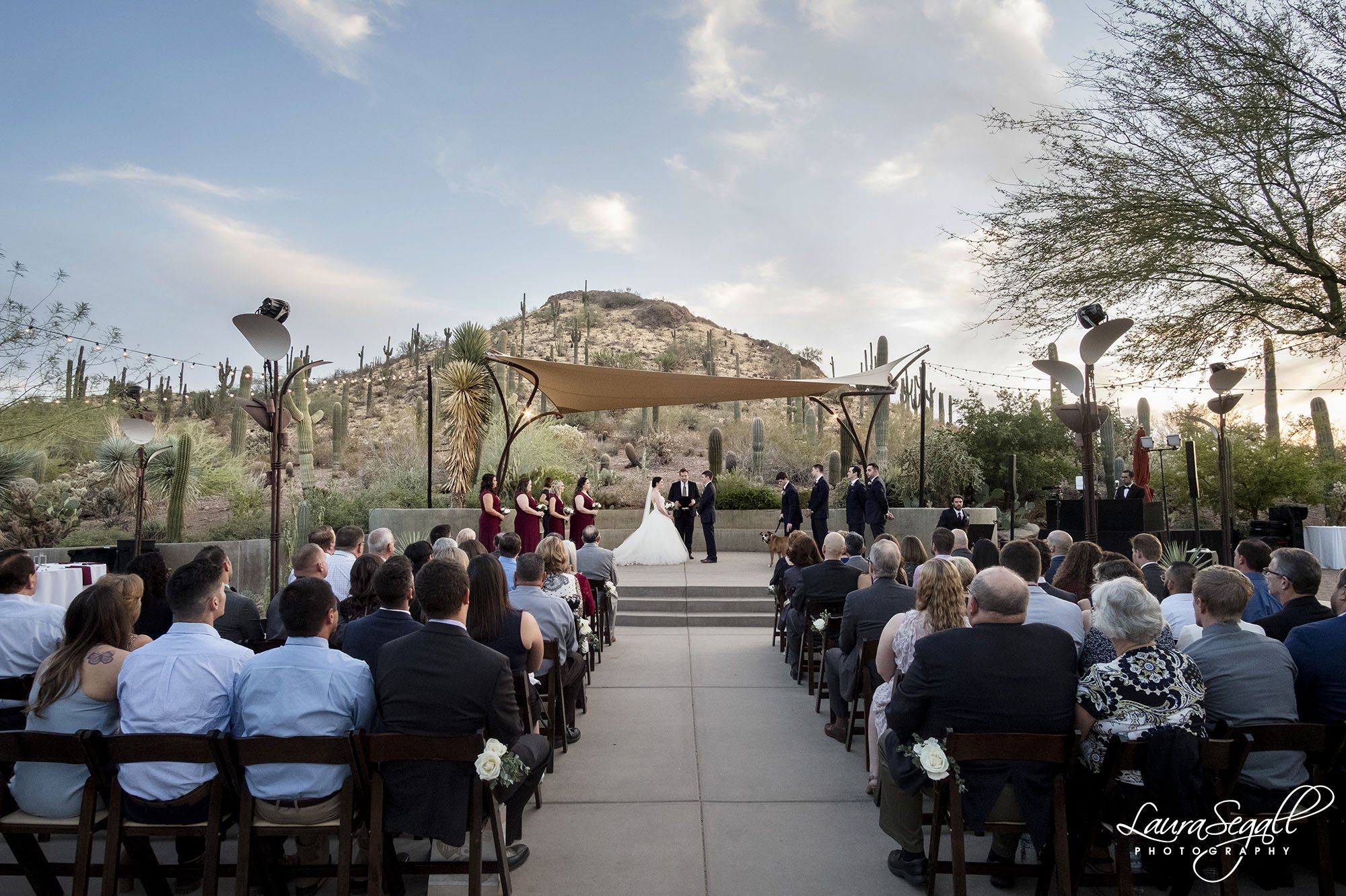 Ullman Terrace ceremony